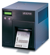 The CL408e printer by SATO offers high-quality images at high speed.